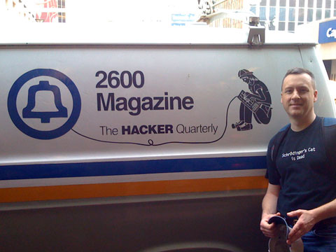 2600 Magazine Hacker Van